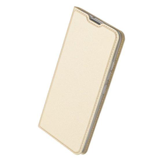 Etui do iPhone 12 Mini z klapką eleganckie złote