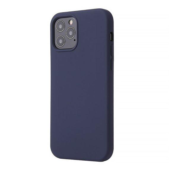 Etui Do Iphone 12 12 Pro Silikonowy Granatowy 2