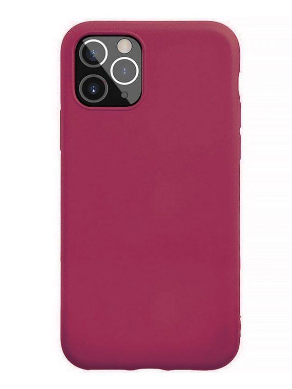 Etui Do Iphone 12 12 Pro Silikonowy Wisniowe