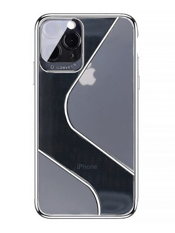 Etui Do Iphone 12 12 Pro Sylukonowe Matowo Przezroczyste