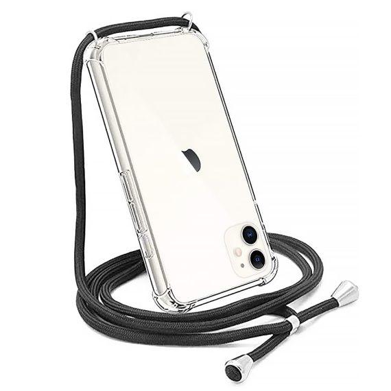 Etui Do Iphone 12 12 Pro Ze Smyczą Wzmaczniane Rogi