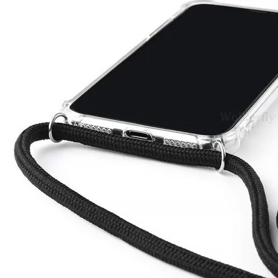 Etui Do Iphone 12 12 Pro Ze Smyczą Wzmaczniane Rogi 6