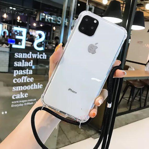 Etui Do Iphone 12 12 Pro Ze Smyczą Wzmaczniane Rogi 7