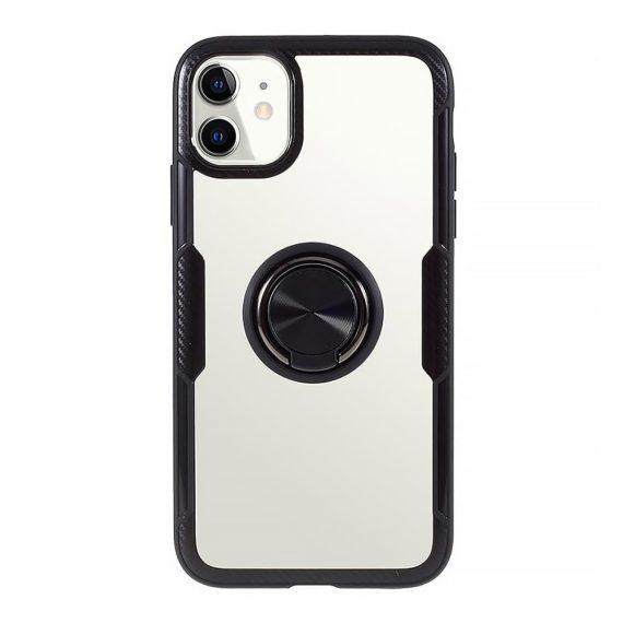 Etui do iPhone 12 Mini Ring Armor pancerne hybrydowe etui pokrowiec + magnetyczny uchwyt
