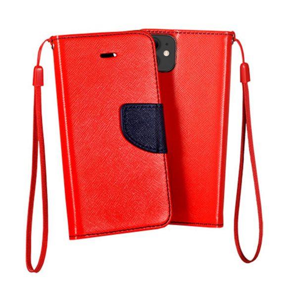 Etui do iPhone 12 Mini trwałe ochronne czerwono-granatowa