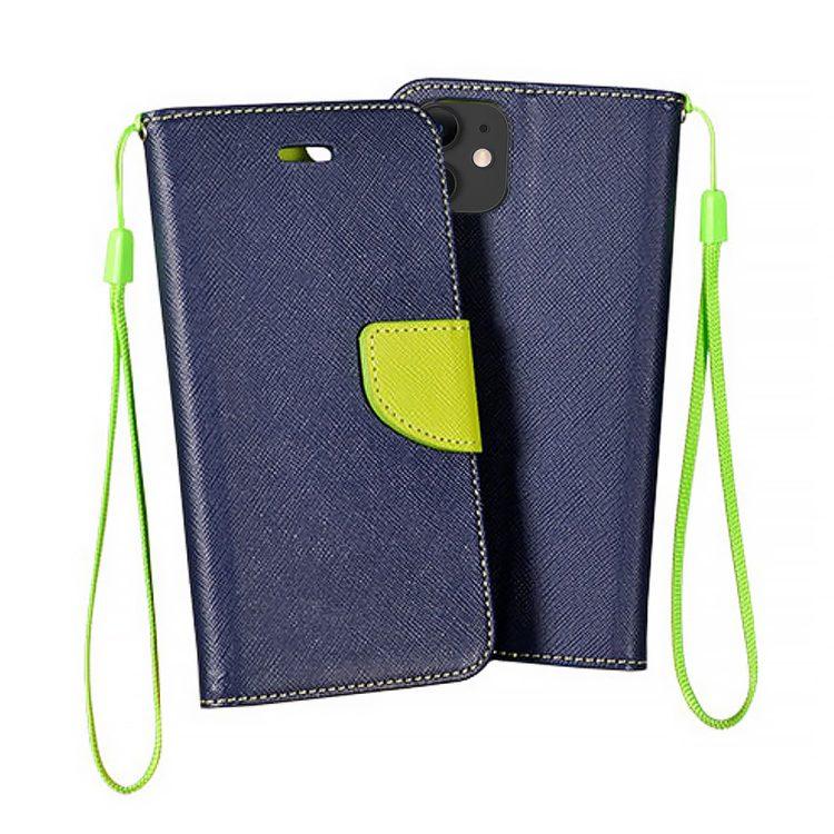 Etui Iphone 11 Zamykane Granatowo Zielone 1