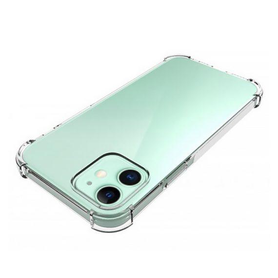 Etui Iphone 12 Silikowe Przezroczyte Anty Shock 3
