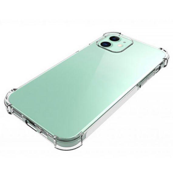 Etui Iphone 12 Silikowe Przezroczyte Anty Shock 4