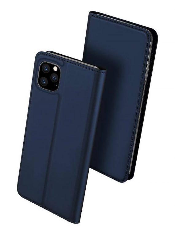 Etui Iphone 12 12 Pro Zamykanie Granatowe 3