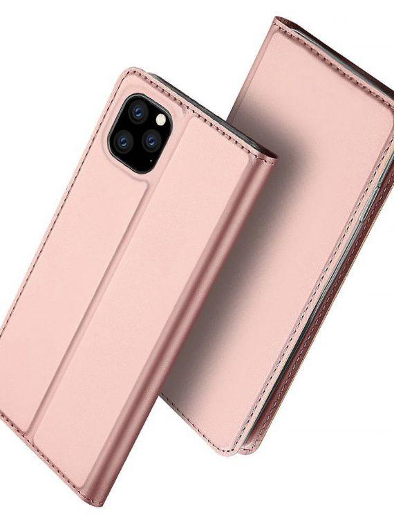 Etui Iphone 12 12 Pro Zamykanie Rozowe 1