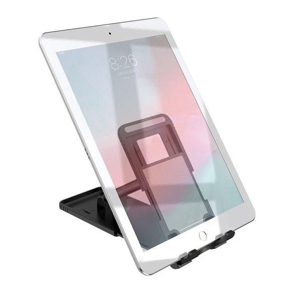 Podstawka, stojak na telefon, tablet czarny na biurko