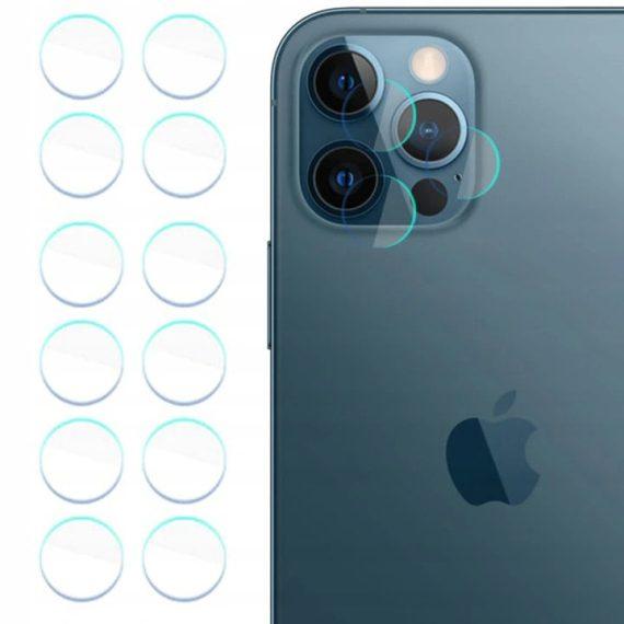 Szkło hartowane do iPhone 12 Mini na aparat, kamerę hybrydowe