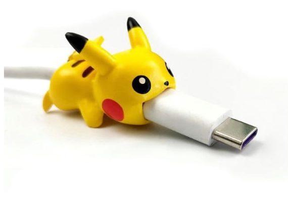 Osłonka zabezpieczenie na kabel lightning ładowarkę pokemon PIKACHU
