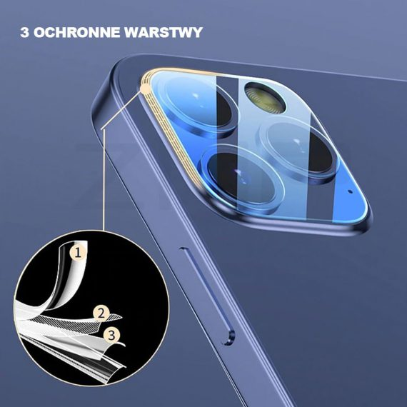 Szkło Hartowane Na Tyl Kamery Ihpone 12 Pro 1