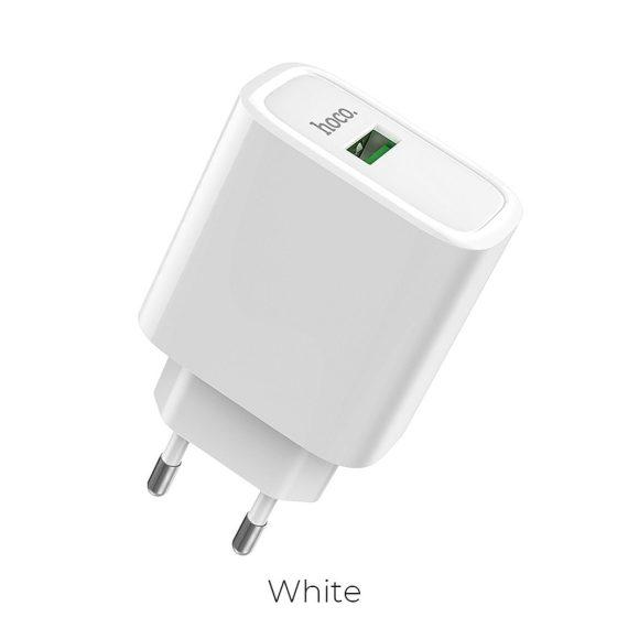 Ładowarka sieciowa USB Biała