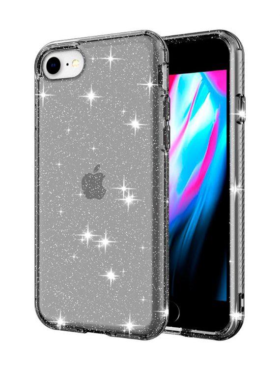 Iphone 7 8 Se Szary Brokat 4
