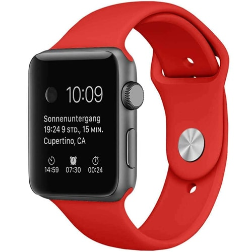 Apple Watch Smartwatch Czerwony