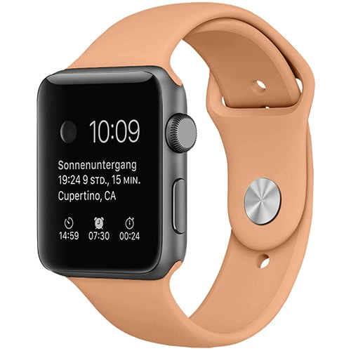 Apple Watch Smartwatch Kremowy