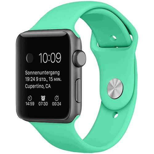 Apple Watch Smartwatch Miętowy