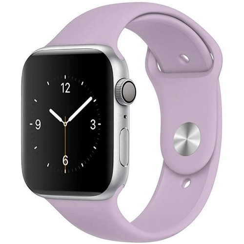 Apple Watch Smartwatch Pastelowy Purpur