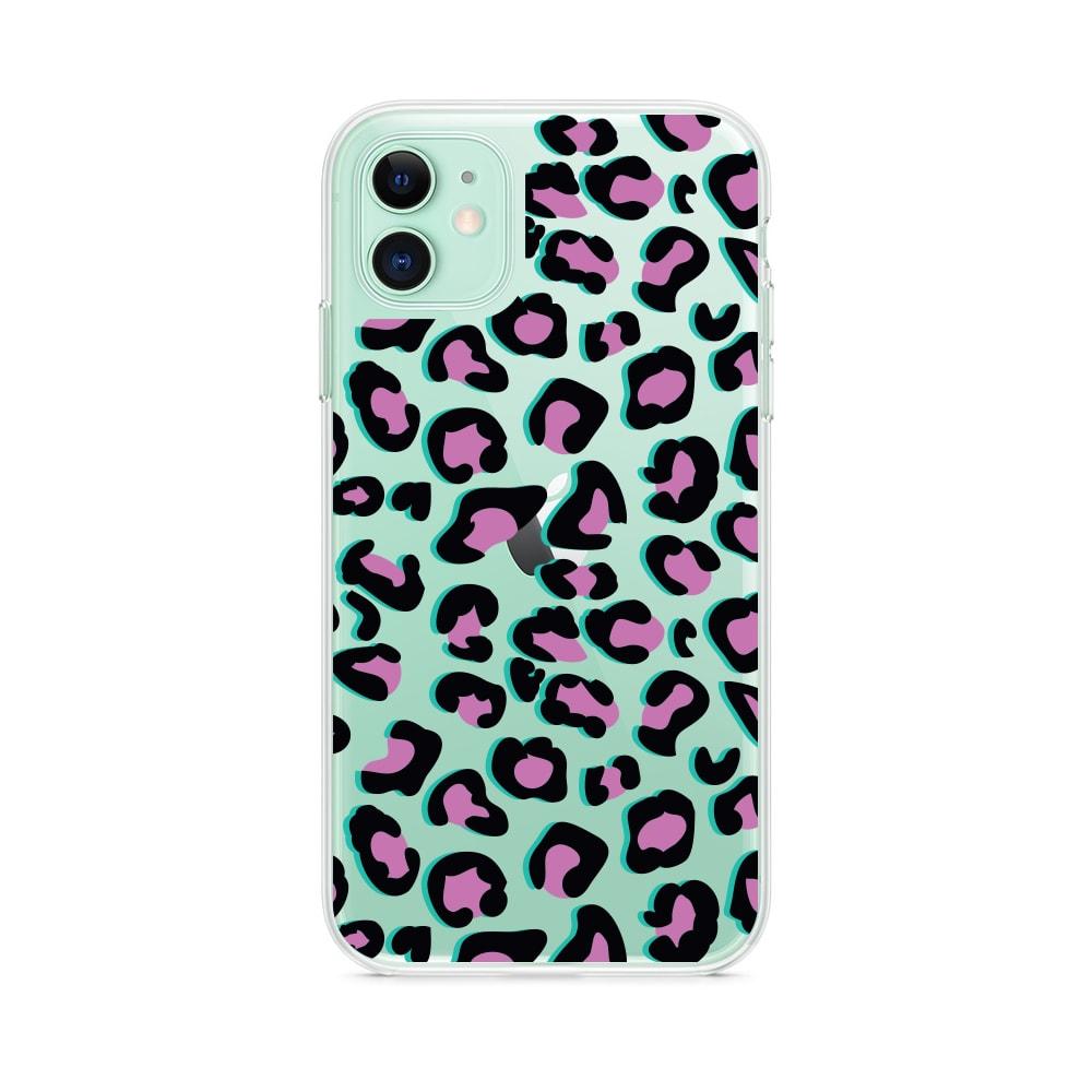 Etui Iphone 11 Przeźroczyste Z Nadrukiem Pantera 1
