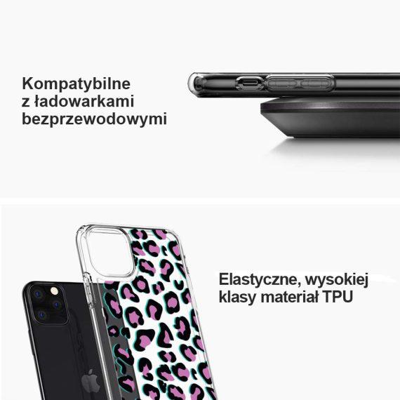 Etui Iphone 11 Przeźroczyste Z Nadrukiem Pantera 4
