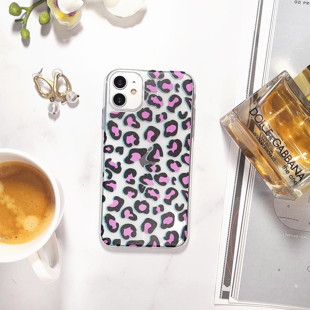 Etui Iphone 11 Przeźroczyste Z Nadrukiem Pantera 5