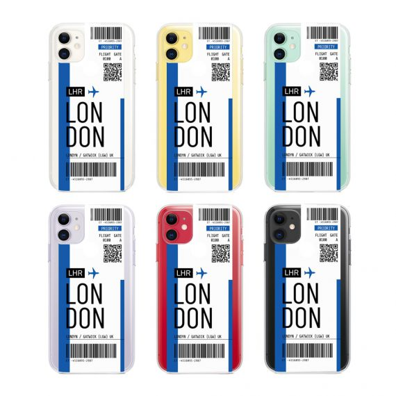 Etui Iphone 11 Przeźroczyste Z Nadrukiem Ticket 2