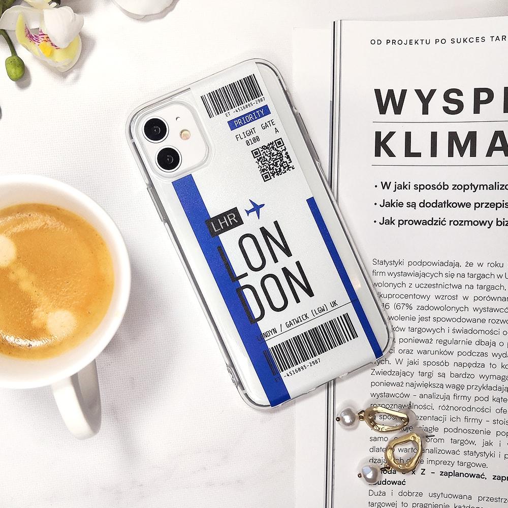 Etui Iphone 11 Przeźroczyste Z Nadrukiem Ticket 5