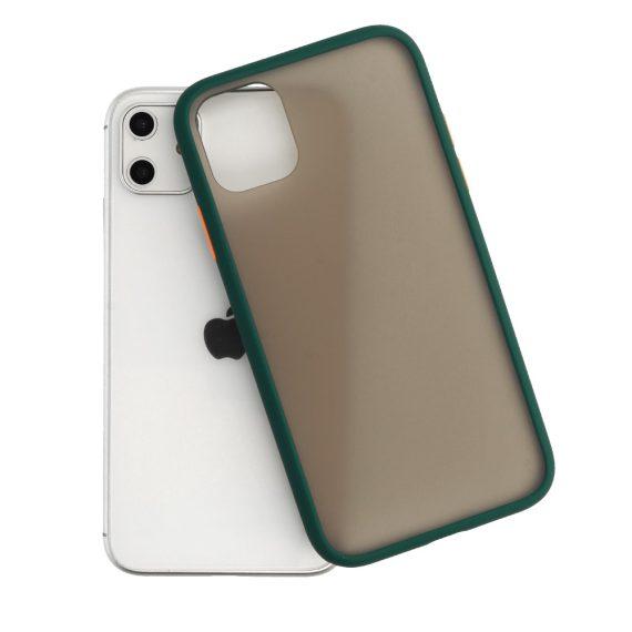 Color Button Green 4 D