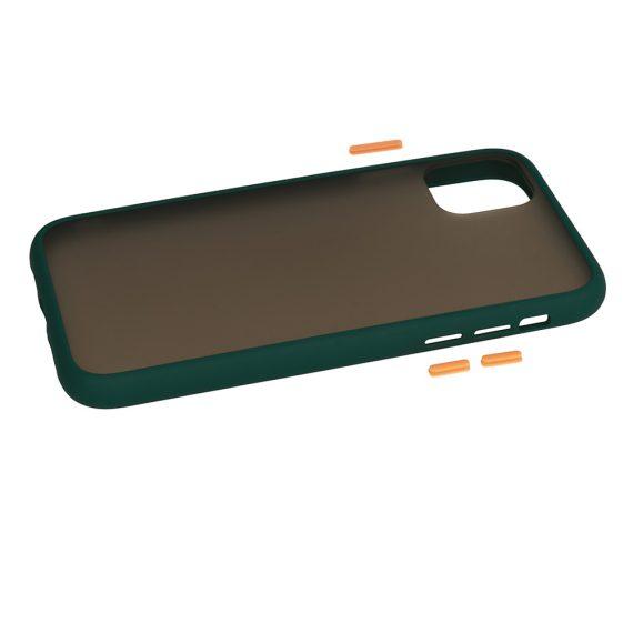 Color Button Green 6 D
