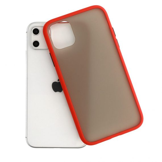 Color Button Red 4 D