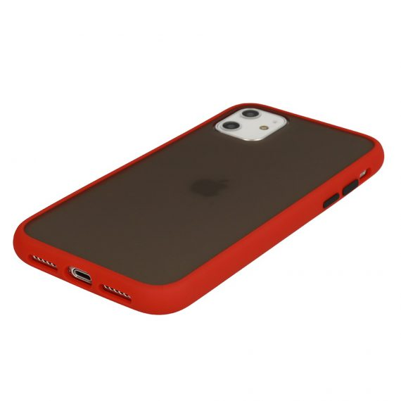 Color Button Red 5 D