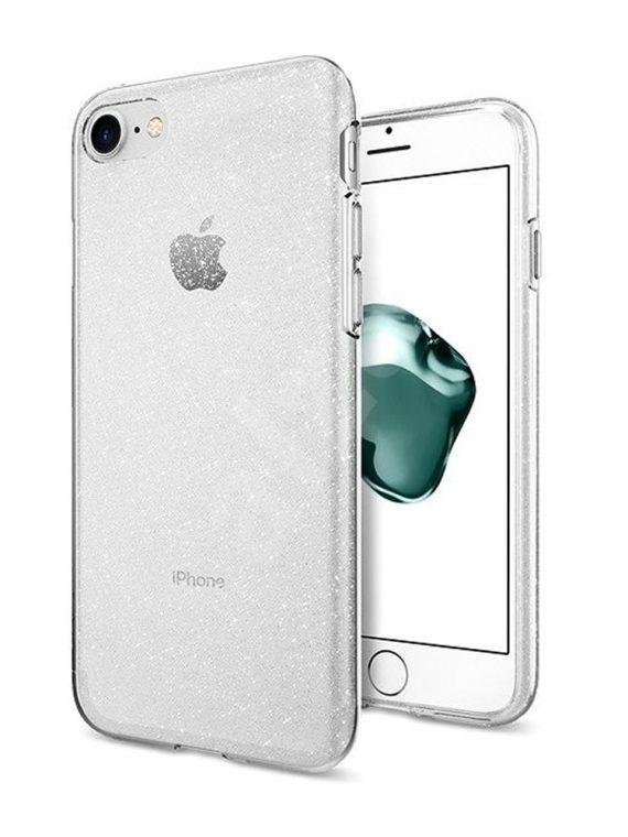 Etui Iphone 12 Pro Brokat Brokatowe Glitter Przezroczyste 13