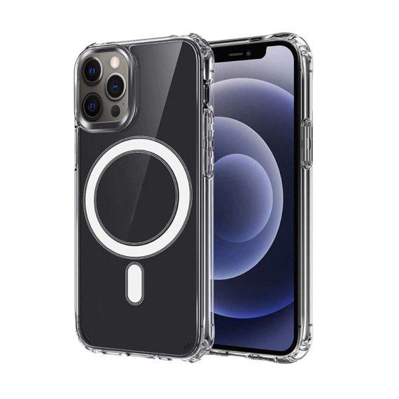 Etui do iPhone 12 Pro Max przeźroczyste z MagSafe