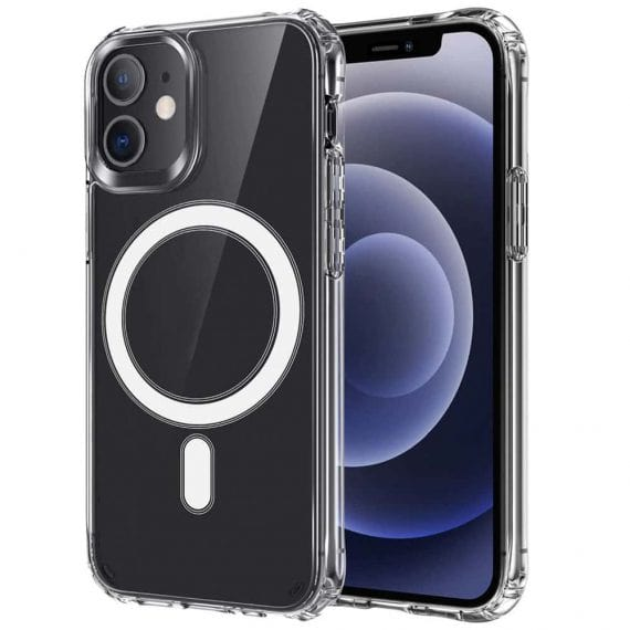 Etui do iPhone 12 Mini przeźroczyste z MagSafe