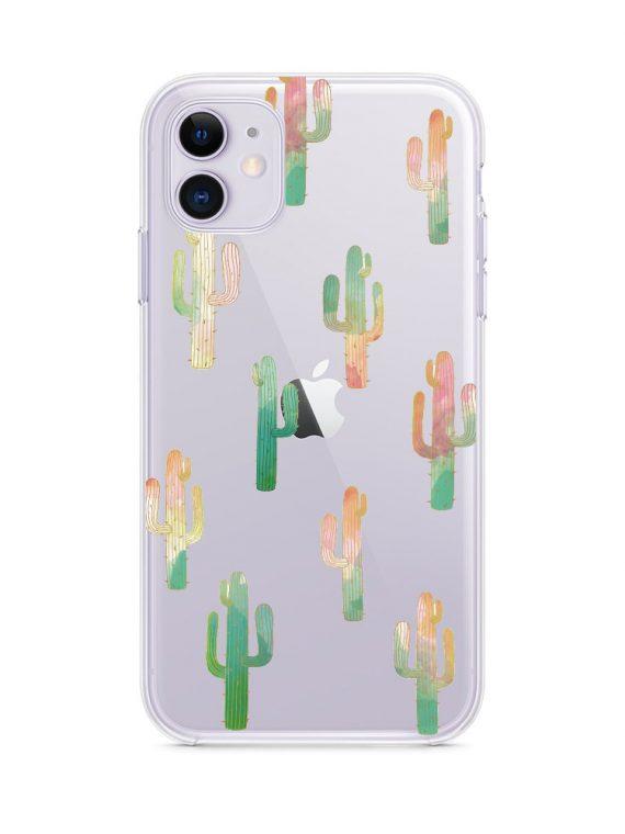 Mock U Iphone 11 Przezrocyste Kaktusy