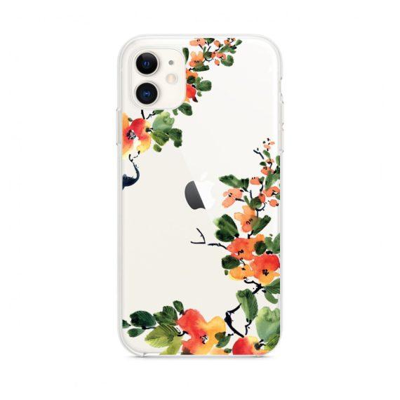 Etui do iPhone 11 z nadrukiem wiosenne kwiaty