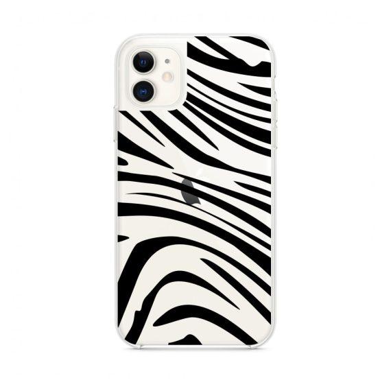 Etui do iPhone 11 z nadrukiem zebra