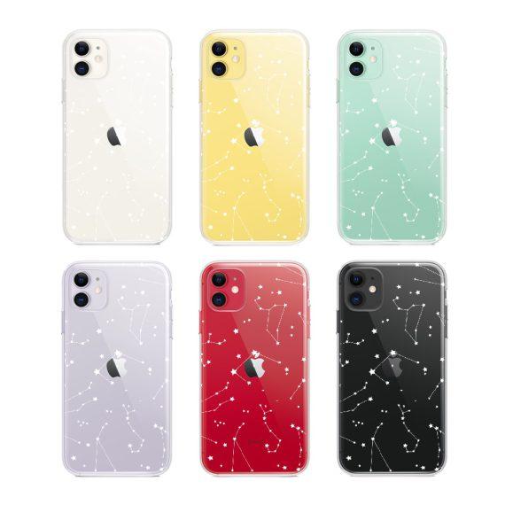 Mock U Iphone 11 Przezrocyste Z Nadrukiem Zodiak2