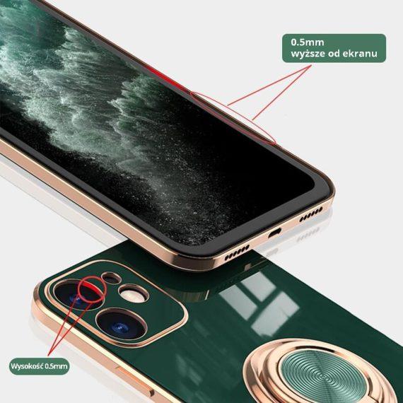 02 iphone11 12 zielony ze złotym