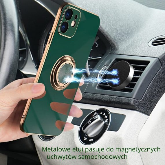 05 iphone11 12 zielony ze złotym