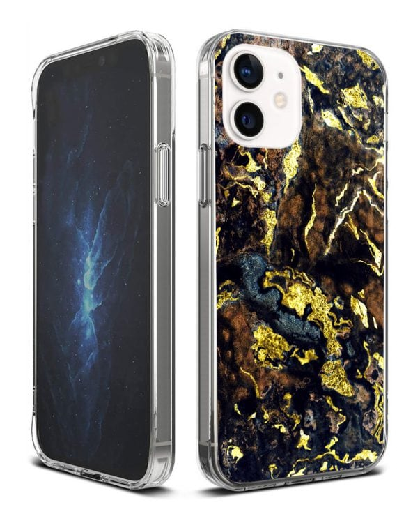 Iphone Iphone12 Marmur Zloty1