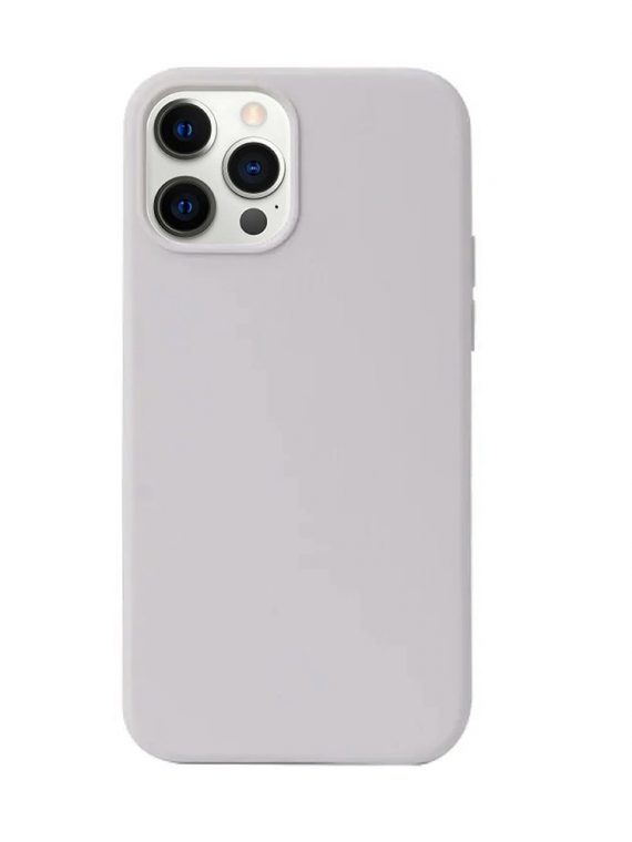 etui iphone 12 pro max matowe soft touch szare