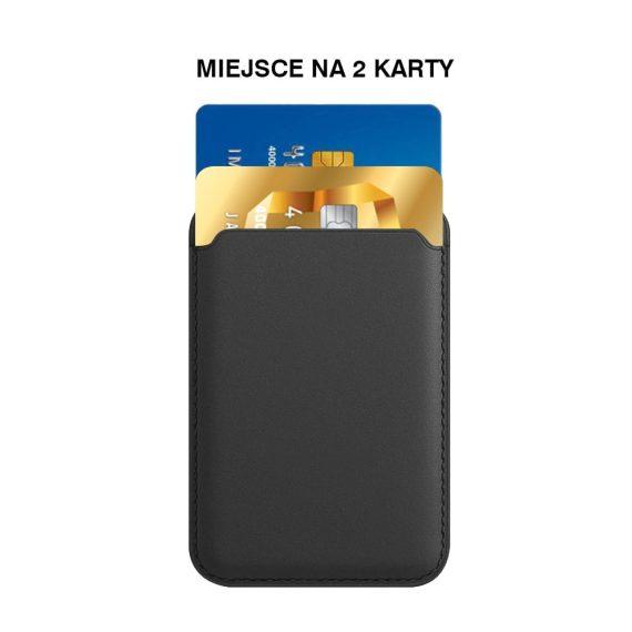 Magnetyczny Skórzany Portfel Z Kieszeni Na Karty Czarny 6