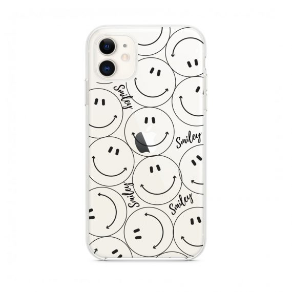 Etui do iPhone 11 z nadrukiem smiley