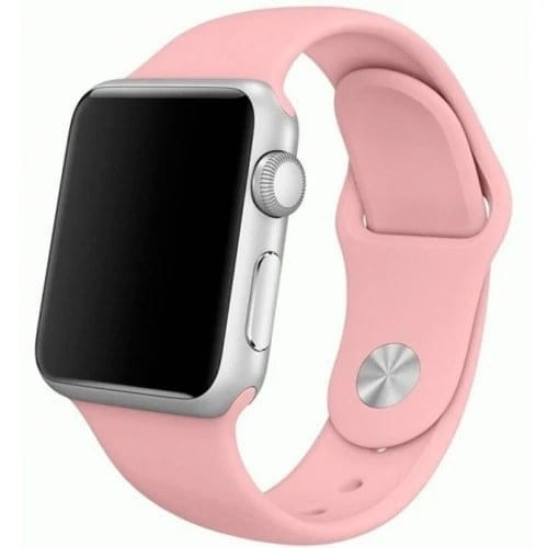 apple watch smartwatch jasno rozowy