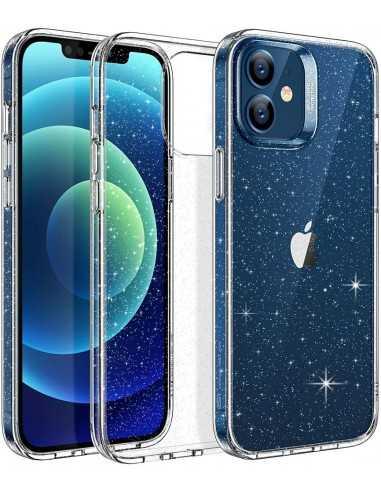etui iphone 12 mini esr shimmer przezroczyste brokatowe
