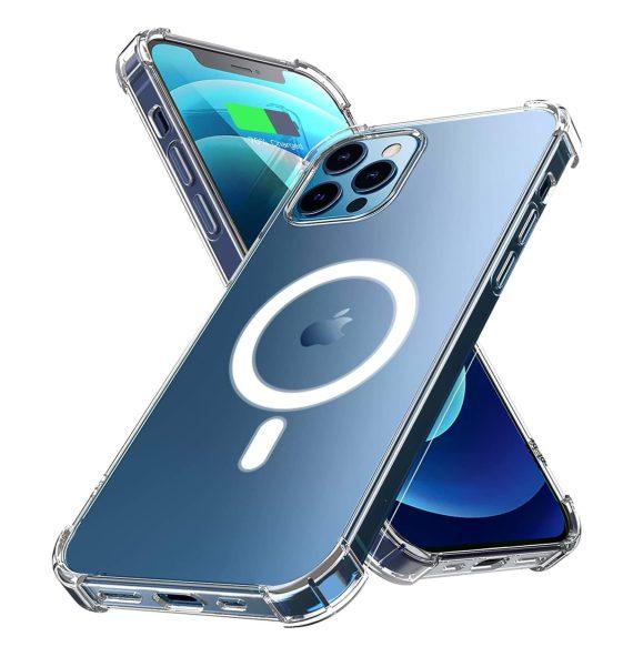 Etui do iPhone 12 Pro transparentne z MagSafe