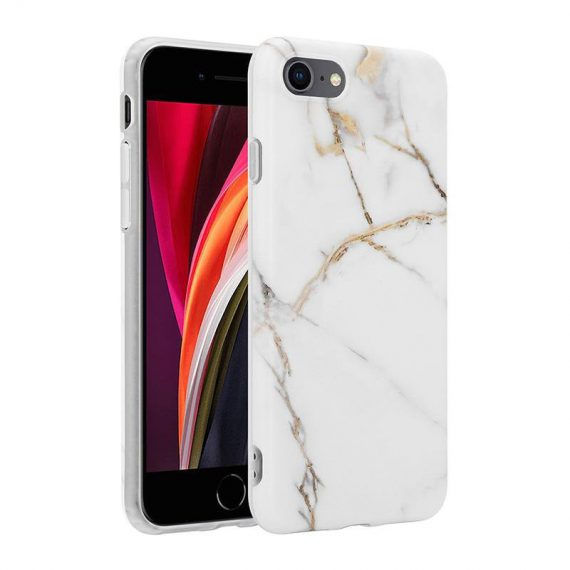 pol pl crong marble case etui iphone se 2020 8 7 bialy 69257 1